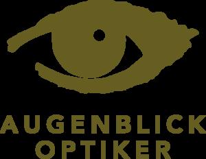 Augenblick Optiker Logo Brillen Kontaktlinsen
